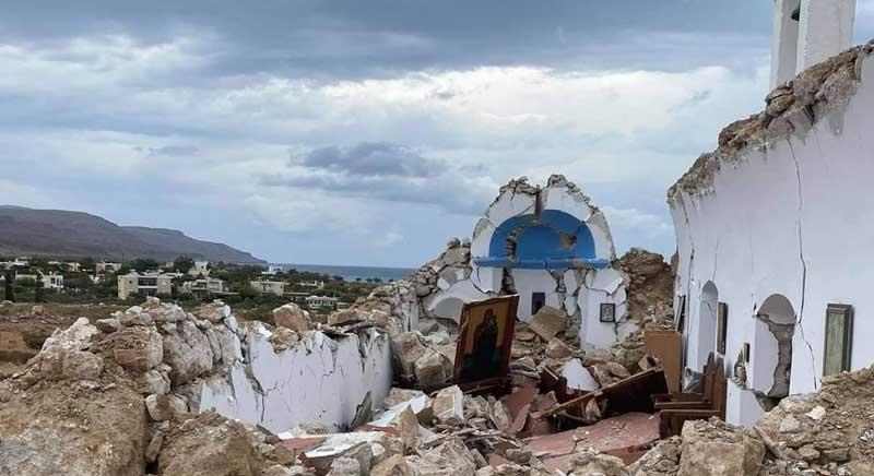 IΙσχυρός σεισμός 6,3 Ρίχτερ νότια της Κρήτης